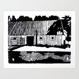 Gamla Uppsala Art Print
