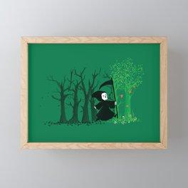 The hills WERE alive Framed Mini Art Print
