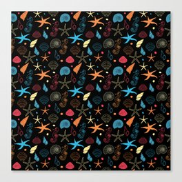Starry Sea Canvas Print