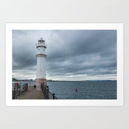 Light Tower in Edingburgh Art Print