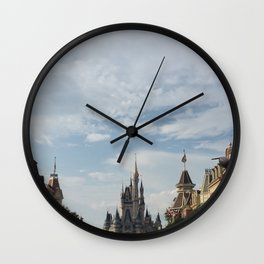 The Happiest Place Wall Clock