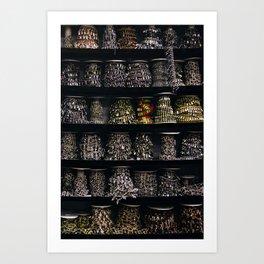 All The Jewels Art Print