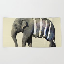 Inner Space Elephant Beach Towel