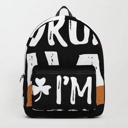 The Drunken Half Backpack