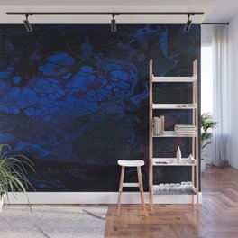 Purple Flow Wall Mural