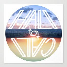 Hali to Cali Canvas Print