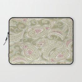 batik paisley warm Laptop Sleeve