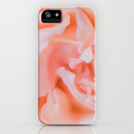 Closeup - Rose Photography iPhone Case