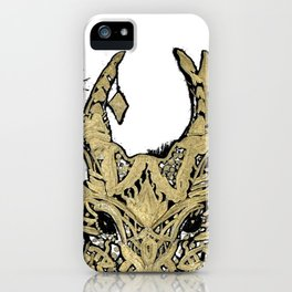 Hirsch gold iPhone Case