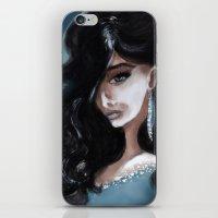 "edgar allan poe iPhone & iPod Skins featuring Edgar Allan Poe: Ligeia by Barbora ""Mad Alice"" Urbankova"