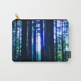Blue June Carry-All Pouch