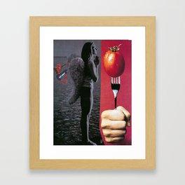 bourgeois bliss Framed Art Print