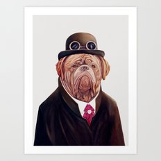 Dogue de Bordeaux Art Print