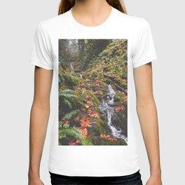 PNW Fall Waterfall T-shirt