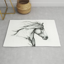 Horse head Rug