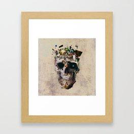 Istanbul Skull 2 Framed Art Print