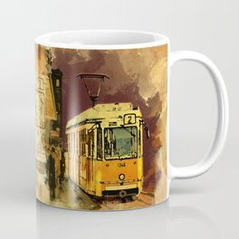 Tram 2 Art Deco Coffee Mug