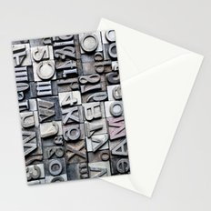Letterpress Stationery Cards
