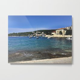 Ocean in Croatia Metal Print