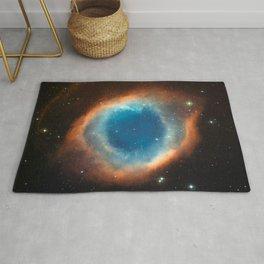 God's Eye Nebula Deep Space Telescopic Photograph No. 2 Rug