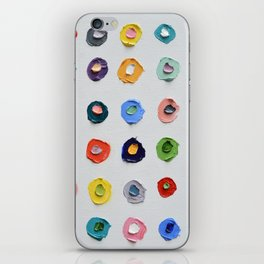 Concentric Polka Daubs iPhone Skin