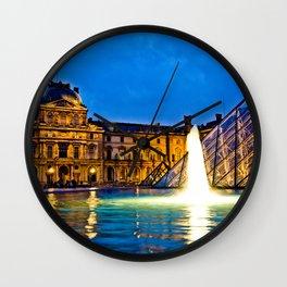 Palais du Louvre II Wall Clock
