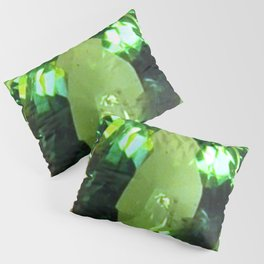 LIME GREEN PERIDOT GEMS AUGUST BIRTHSTONES Pillow Sham