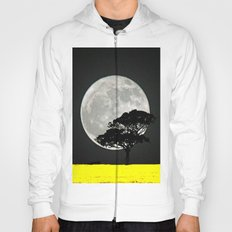 Lone Tree And Moon. Hoody