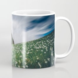 Thousands of narcissus on Golica, Slovenia Coffee Mug