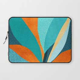Abstract Tropical Foliage Laptop Sleeve