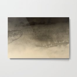 Sky Watercolor Texture Abstract 255 Metal Print