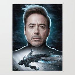 Iron Man Tony Stark Poster
