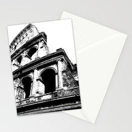Coliseum lines Stationery Cards