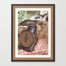 Farmer's Scale Canvas Print