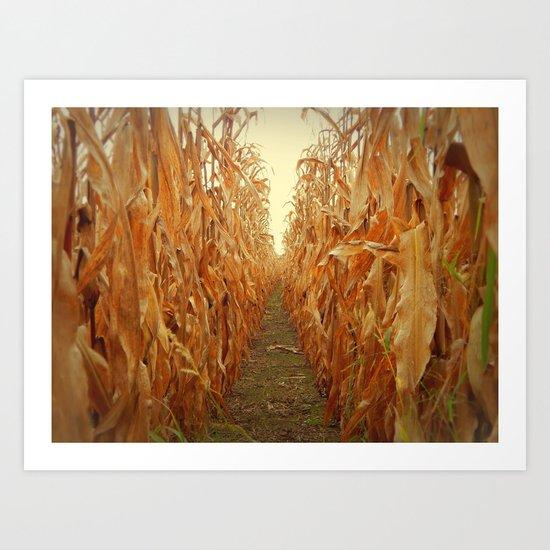 Little Farm Art Print