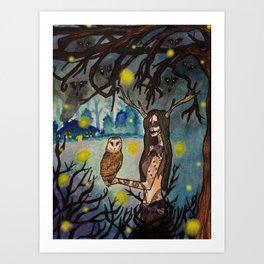Forest Crone Art Print