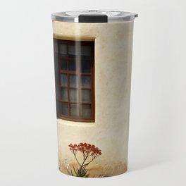 Succulents on wall Travel Mug