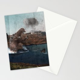 King Godzilla Stationery Cards