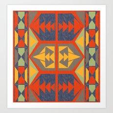 Going Native Art Print