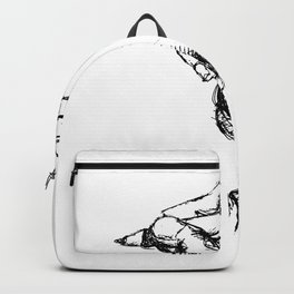 Hand draw Backpack