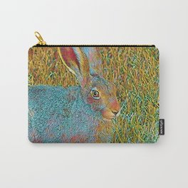 Popular Animals - Bunny 2 Carry-All Pouch
