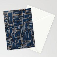 Electropattern Stationery Cards