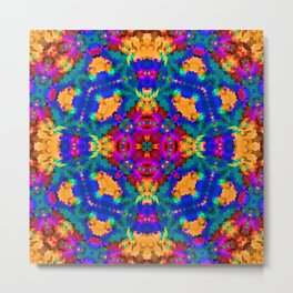 Ornament, ethnic, geometric 11 Metal Print