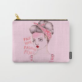 Face your Fashion Fears Carry-All Pouch