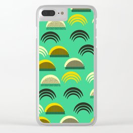 Decor semicircles Clear iPhone Case