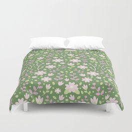 Be Happy for This Momment – Omar Khayyam's Quote Duvet Cover