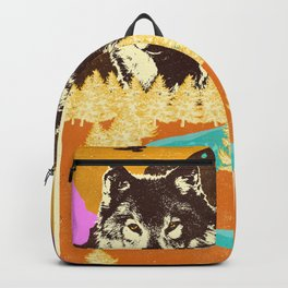 TWIN WOLVES Backpack