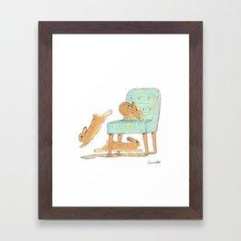 Binky! Framed Art Print