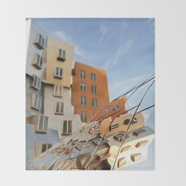 The Ray and Maria Stata Center Throw Blanket