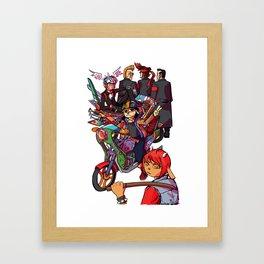 RHYTHM GANG Framed Art Print